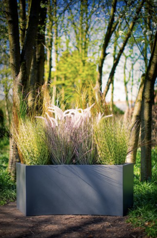 Fibreglass Trough Planters From Potstore Co Uk - Designer Garden Furniture Clearance